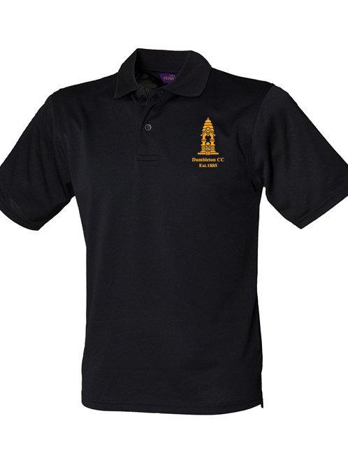 Match Day Polo Shirt (HB475) Black - Dumbleton