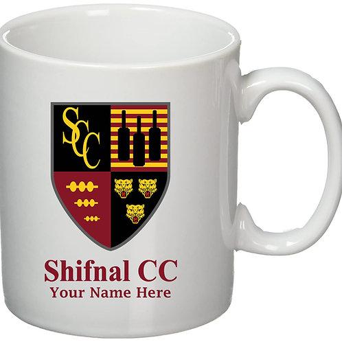 Mug (inc name) - Shifnal CC