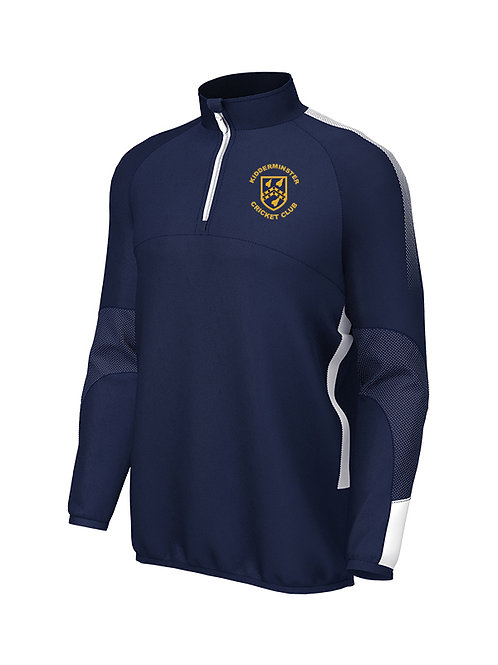 Pro Mid Layer 1/4 Zip  (E868) Navy/White - Kidderminster