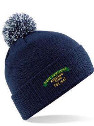 Bobble Hat (B450) Navy - PSAC