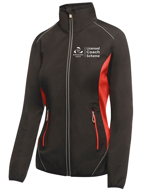 Soft Shell Jacket, Women's Black/Red