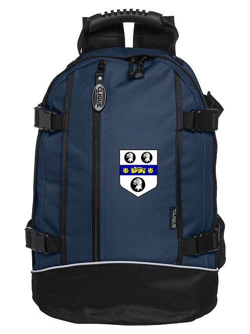 Backpack (040207) Blue/Black - Old Moseley Arms CC