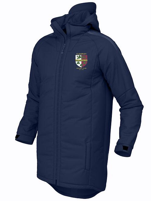 Pro 3/4 Coat (E894) Navy - Claverley CC