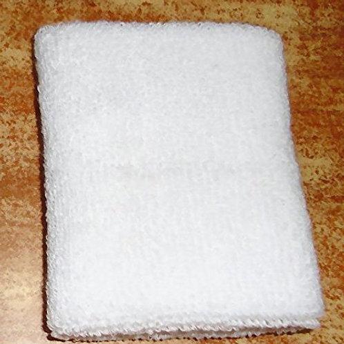 Sweatband Plain White