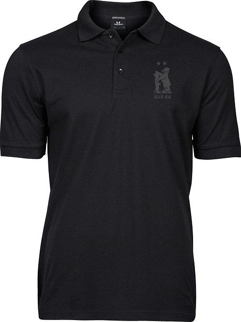 Men's Polo Shirt (TJ1405) Black - Knowle & Dorridge