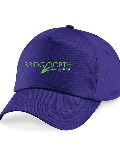 Baseball Cap Junior (B10b) Purple, Bridgnorth Tennis Club