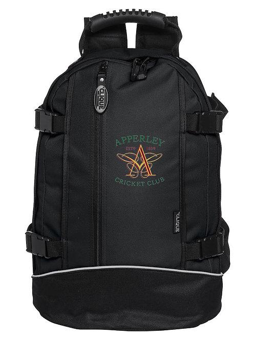 Back Pack (040207) - Black- Apperley CC