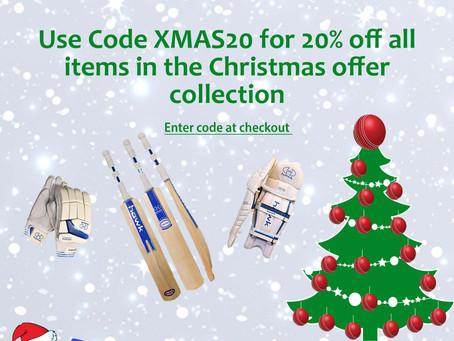 Christmas offer XMAS20