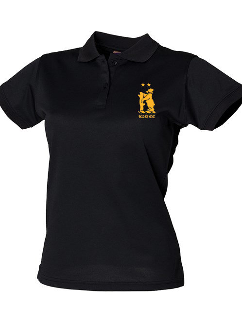 Lady Fit Polo Shirt (HB476) - Black - Knowle & Dorridge