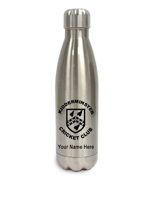 Water Bottle (inc name) Aluminum- Kidderminster CC