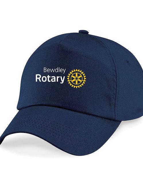 Baseball Style Cap - Navy, Bewdley Rotary
