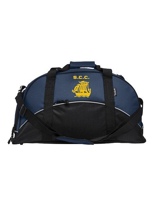 Match Day Holdall (040208) Black/Blue - Stourport CC