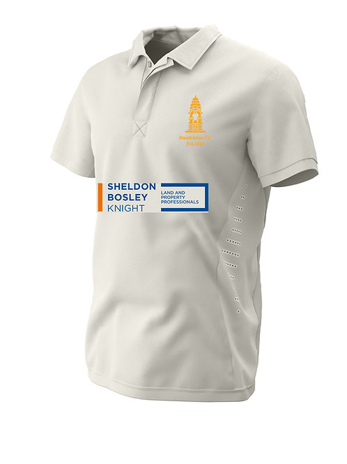 Cricket Shirt S/S (H1) Cream - Dumbleton