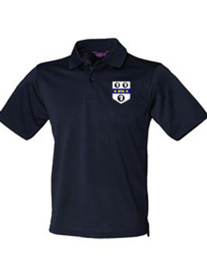 Polo Shirt (HB475) Navy - Old Moseley Arms CC