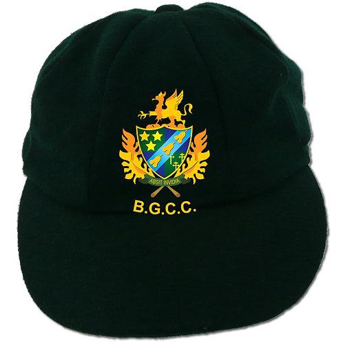 Traditional Cricket Cap - Green - Barnt Green