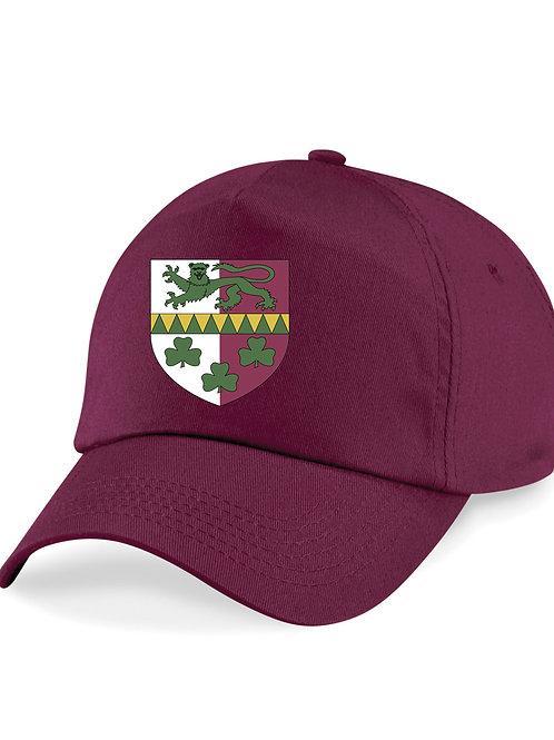 Baseball Style Cap - Maroon - Claverley CC