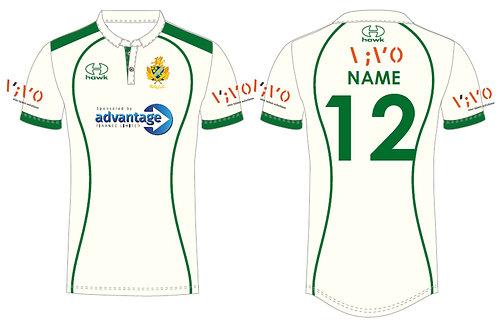 Bespoke Cricket Shirt S/S - Barnt Green CC