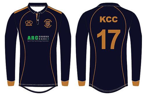 T20 Bespoke Playing Shirt L/S - Kidderminster CC