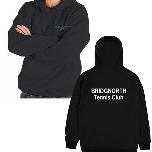 Hoodie Senior, Black (RK24) Bridgnorth Tennis Club