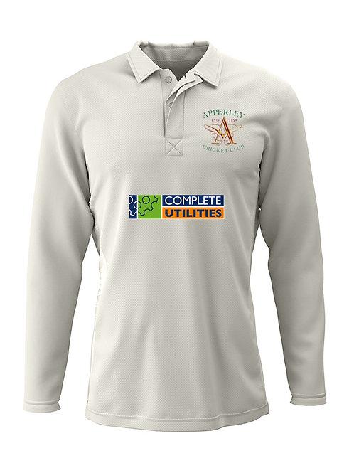 Cricket Shirt L/S (H2)  Apperley CC