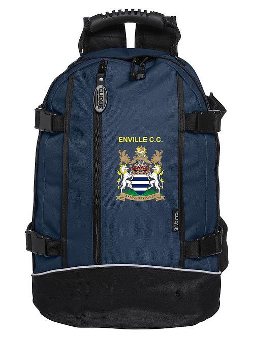 Back Pack (040207) Black/Blue - Enville CC