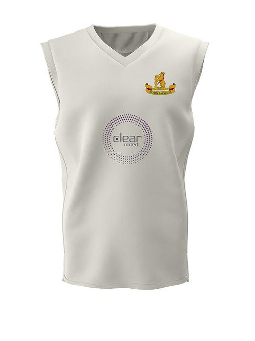 Cricket Slipover (C6) Cream - Olton & WW CC