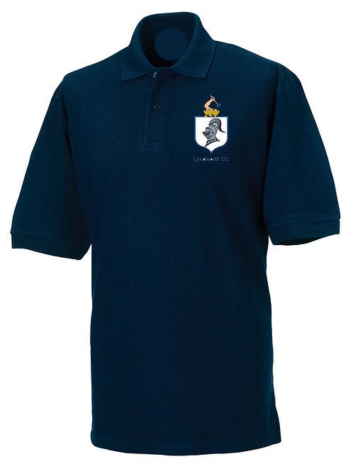 Polo Shirt (HB475) Navy  Lyndworth CC
