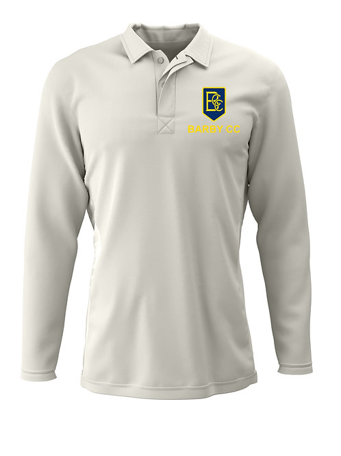 Cricket Shirt L/S (H2) Cream - Barby CC