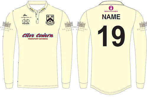 Bespoke Cricket Shirt L/S - Worfield CC