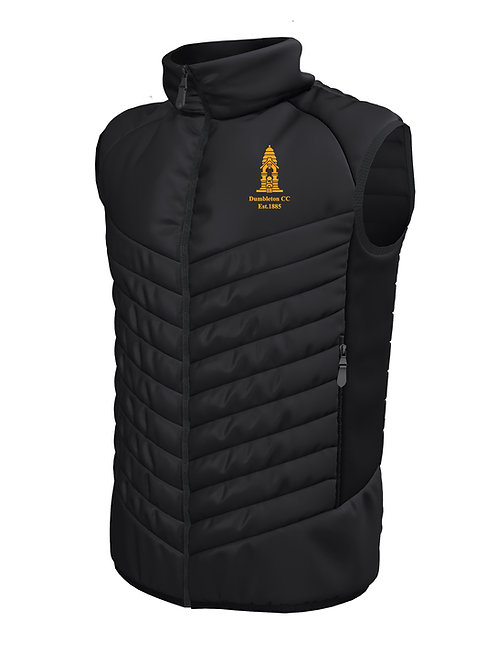 Padded Gilet (E870) -Black - Dumbleton