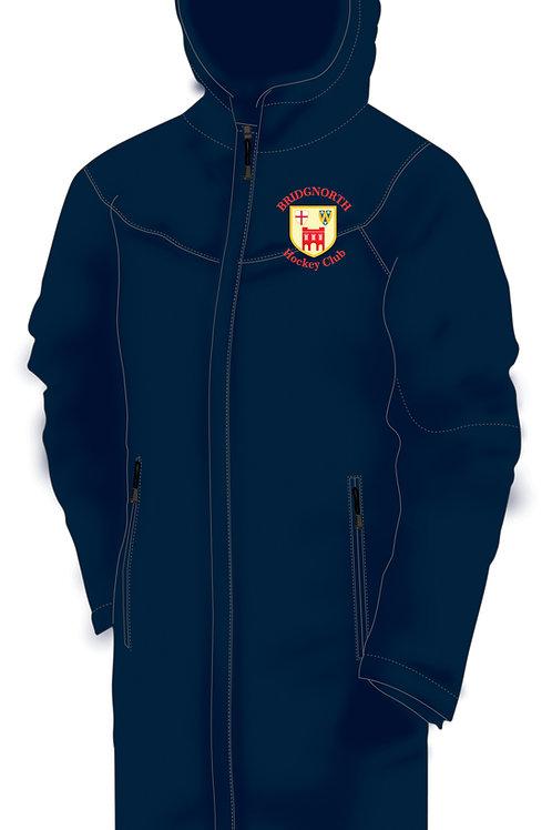Bench Coat- Navy (H827) Bridgnorth Hockey