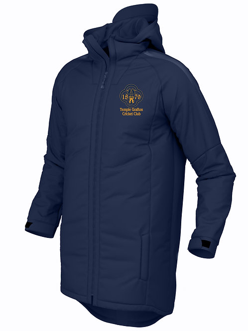 3/4 Pro Coat (E894) Navy - Temple Grafton