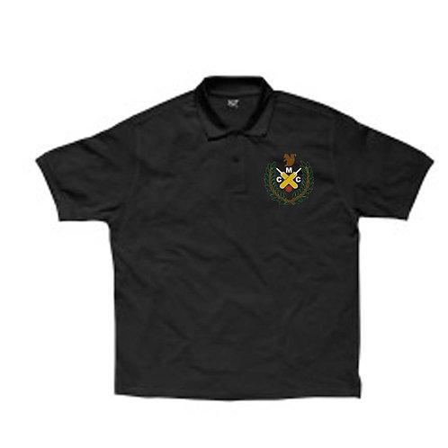 Polo Shirt Black (SG59)  MONK