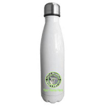 Water Bottle (inc name) - White - Castle Bromwich CC