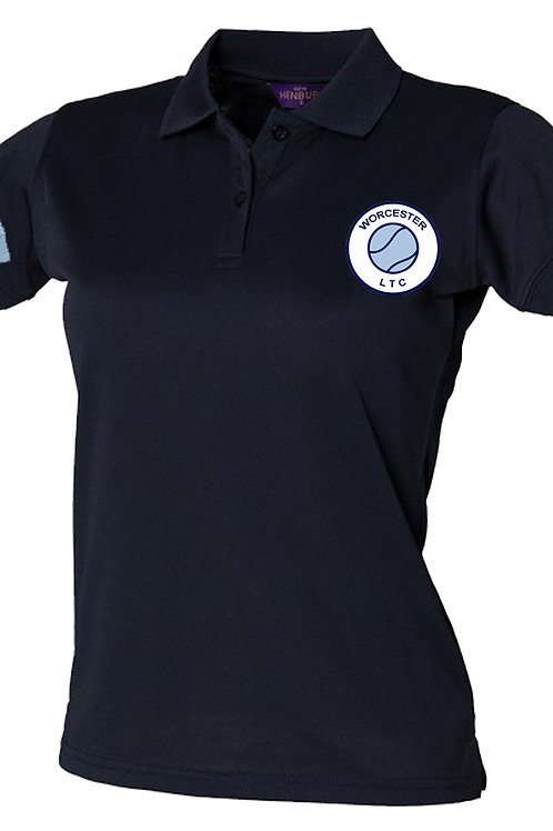 Ladies Polyester Polo Shirt (HB475)