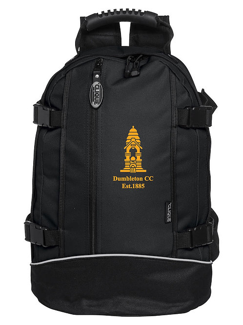 Backpack (040207) Black - Dumbleton CC