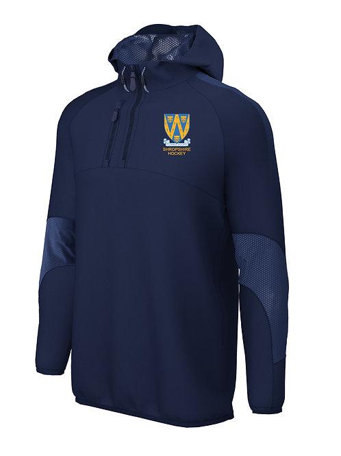 Pro Hooded Jacket (E873) Navy - Shropshire County Hockey