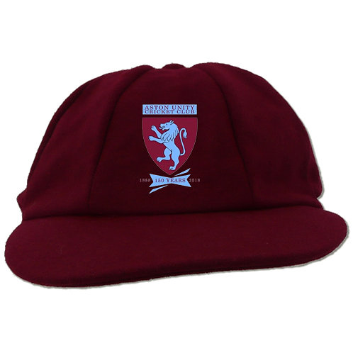 Traditional Cricket Cap - Maroon - Aston Unity