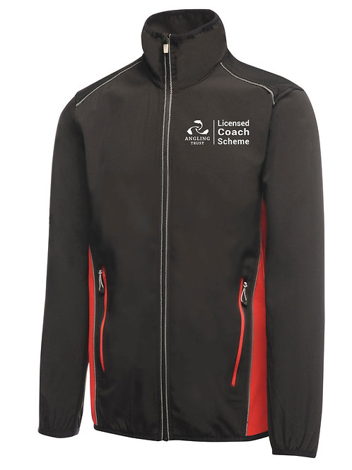 Soft Shell Jacket, Men's Black/Red