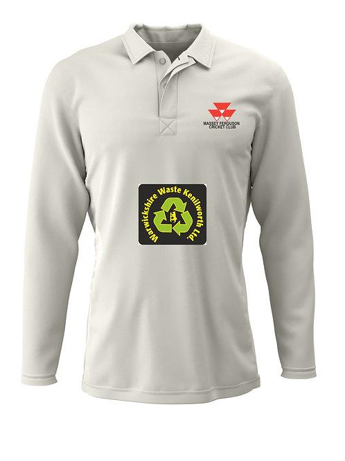 Cricket Shirt Long Sleeve (H2) - Massey Ferguson