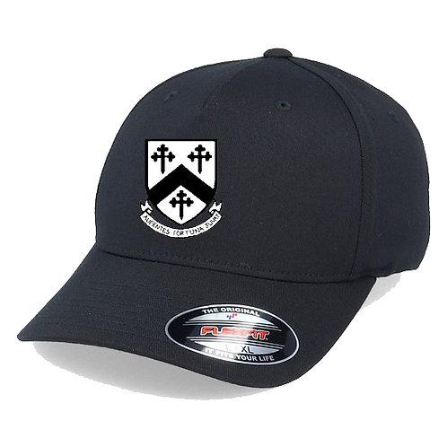Flexi Fit Cap -Black - Worfield CC