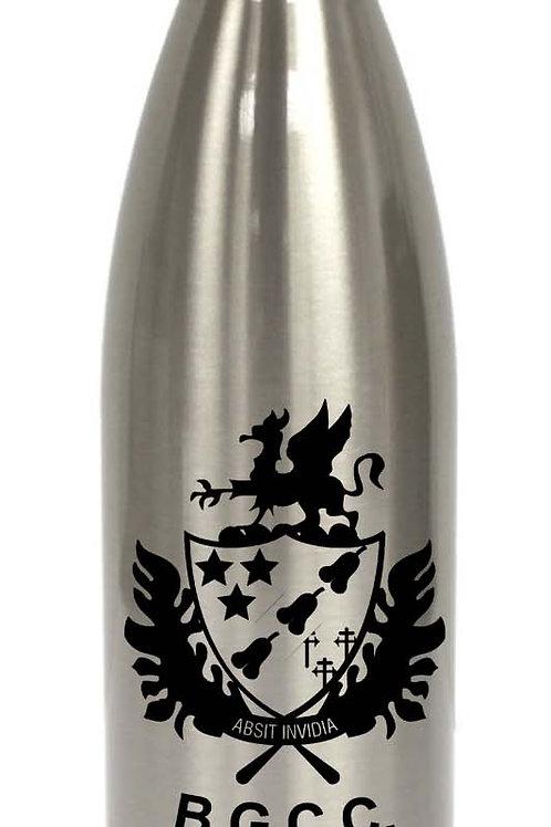 Water Bottle (inc name) Aluminum -Barnt Green