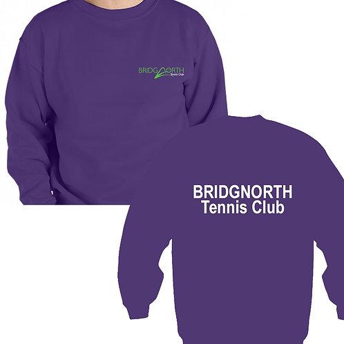 Sweatshirt Senior (RK20) Purple, Bridgnorth Tennis Club