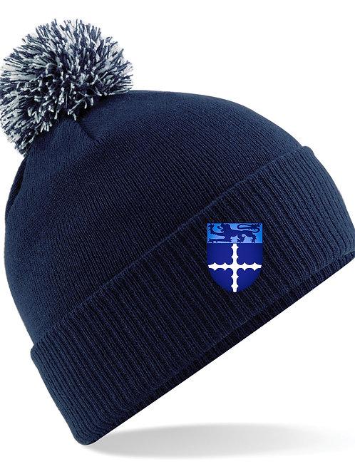 Bobble Hat Senior Navy - Studley
