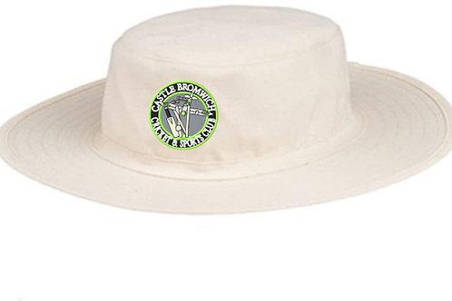 Sun Hat - Cream - Castle Bromwich CC