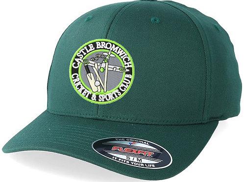 Flexi Fit Cap - Green - Castle Bromwich CC