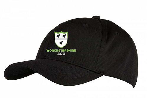 Bamboo Baseball Style Cap-Black   (C6725) UMP