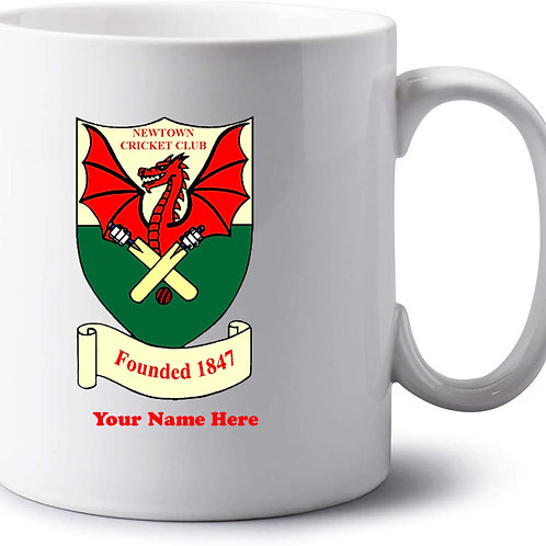 Mug - inc name - Newtown CC
