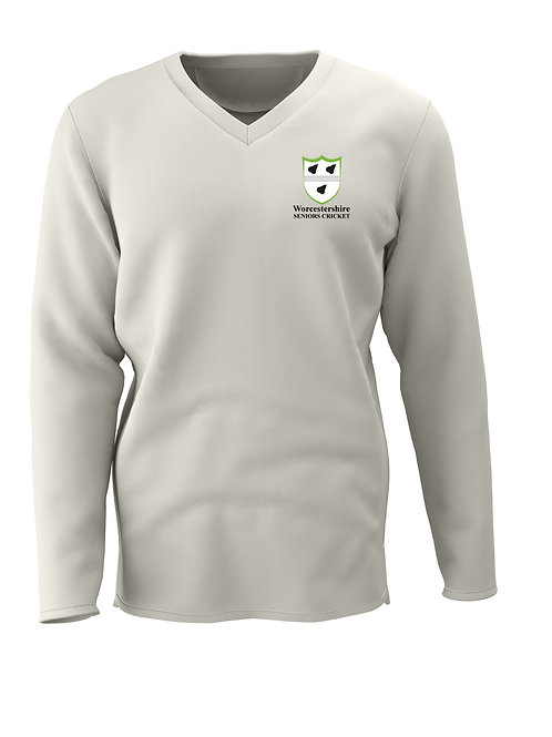 Cricket Sweater L/S (H7) Worcs Seniors