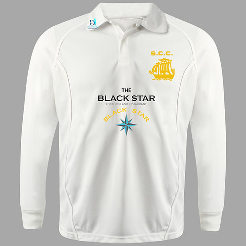 Cricket Shirt (H2) L/S  - Cream -Stourport CC